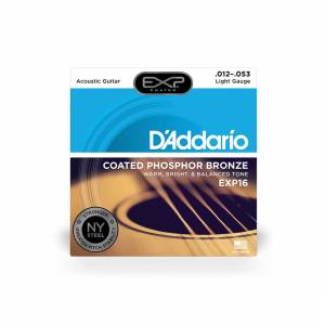 D'Addario - Acoustic Strings (Coated Phosphor Bronze) 12-53 [EXP16] 1