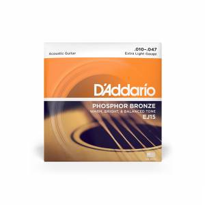 D'Addario - Acoustic Strings (Phosphor Bronze) 10-47 [EJ15] 1