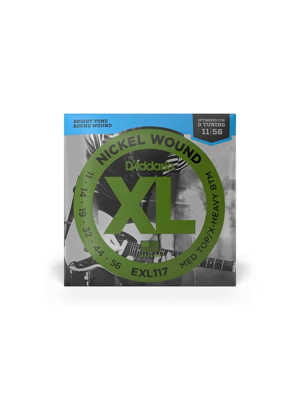 D'Addario - Electric (XL Nickel Med) 11-56 [EXL117] 1