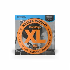 D'Addario - Electric (XL Nickel Regular) 10-46 [ESXL110] 1