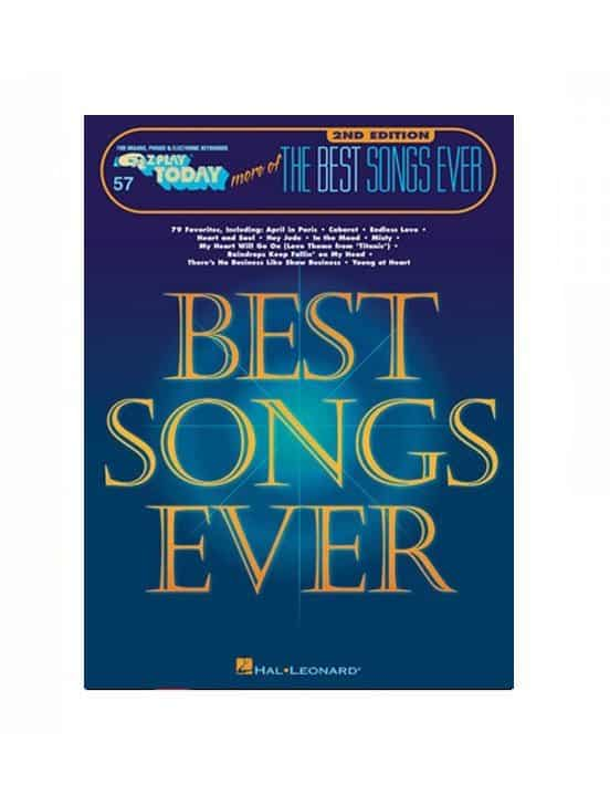 MORE OF THE BEST SONGS EVER – 2ND EDITION E-Z Play Today Volume 57
