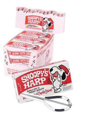 Snoopy's Harp 3/5 inch Jaw Harp