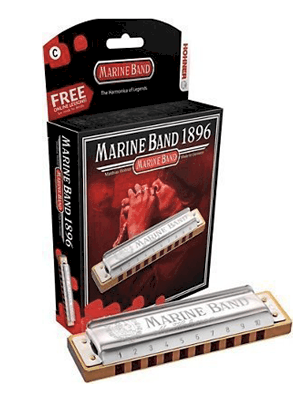 Hohner MARINE BAND diatonic major harmonica