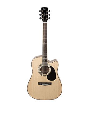 Cort Spruce Acoustic Guitar with Pickup