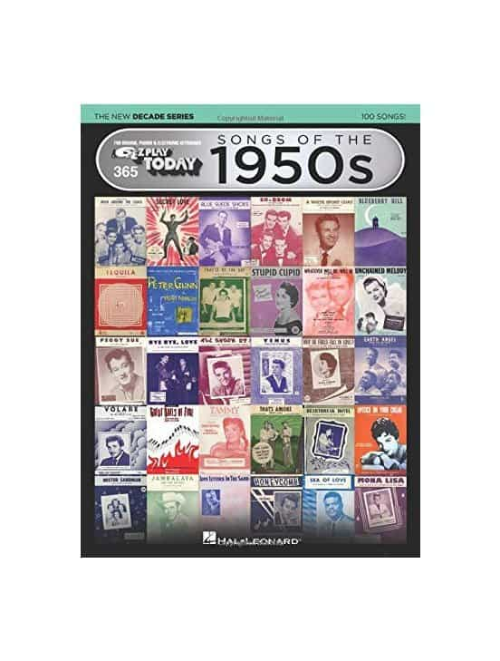 EZ Play 365 Songs of the 1950s - The New Decade Series