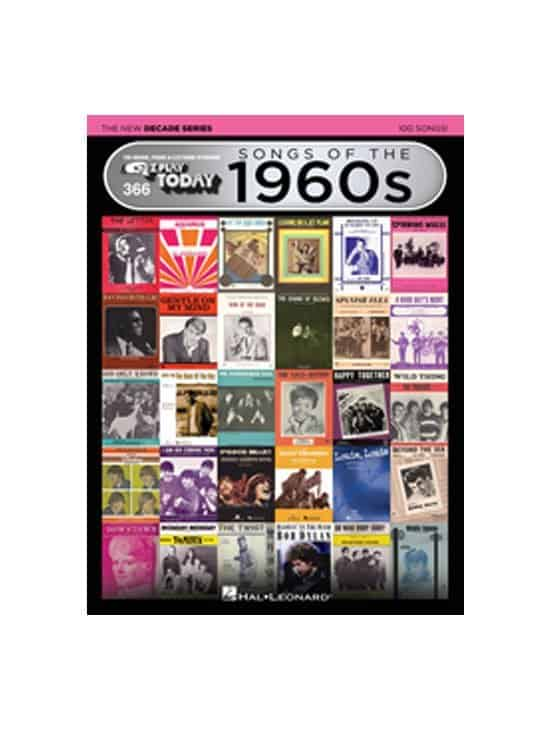 E-Z Play Songs of the 1960s - The New Decade Series