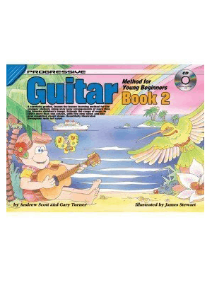 Progressive Guitar Method for Young Beginners: Book 2 with CD