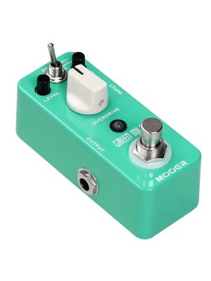 Mooer MEP-GM Green Mile Dual Mode Overdrive Micro Guitar Effects Pedal