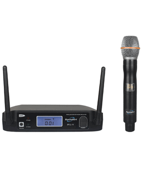 SoundArt SPLL-10-M Single-Channel UHF Wireless Handheld Microphone System