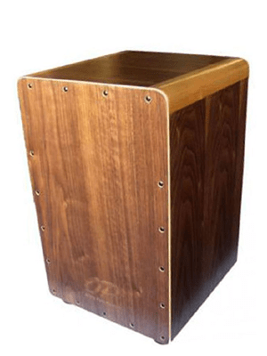 Opus Percussion Walnut Cajon w/ Bag PPCAJONWAL