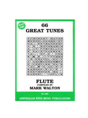 66 Great Tunes Flute