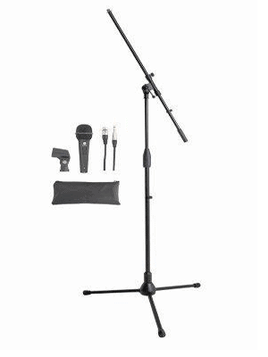 Microphone & Boom Stand Pack
