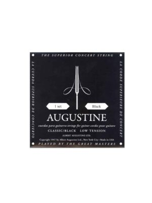 Augustine Classic Black Classical Strings - Low Tension