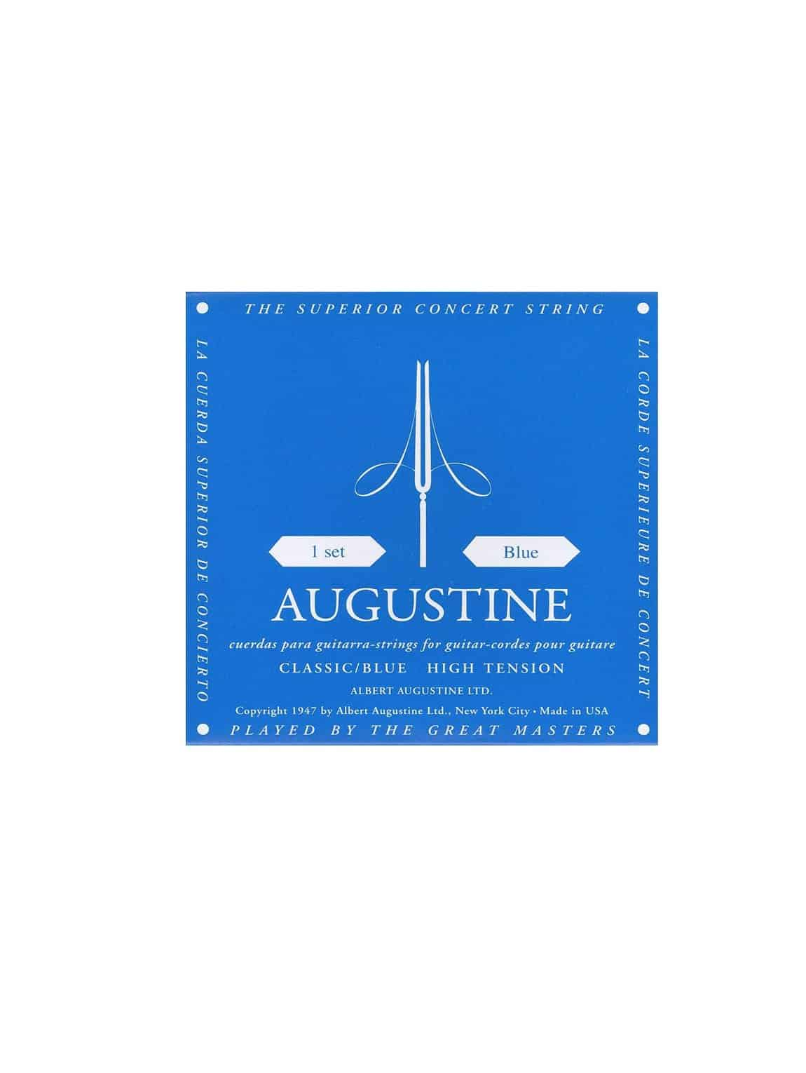 Augustine Classic Blue Classical Strings – High Tension
