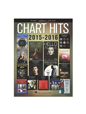 Chart Hits 2015-2016 Piano, Vocal & Guitar