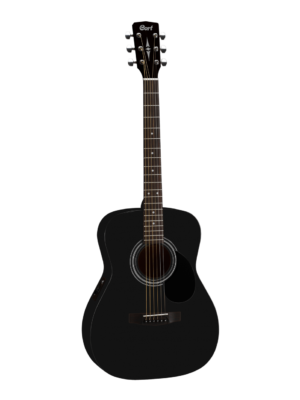 Cort AF510 Black Small Body Acoustic Guitar
