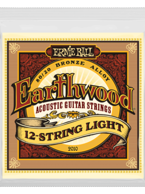 Ernie Ball – 2010 -Earthwood 12 string set – 9-46 Gauge