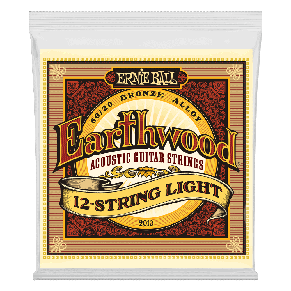 Ernie Ball - 2010 -Earthwood 12 string set - 9-46 Gauge