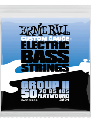Ernie Ball – 2804- FlatWound Group II Electric Bass Strings