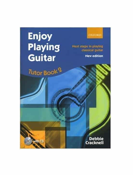 Enjoy Playing Guitar Bk2 by Debbie Cracknell