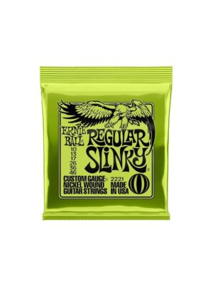Ernie Ball -2221- Regular Slinky- Electric 10-46 Gauge