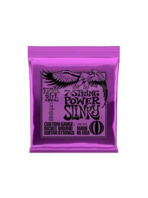 Ernie Ball - 2620-Power Slinky 7-String- Electric 11-58 Gauge
