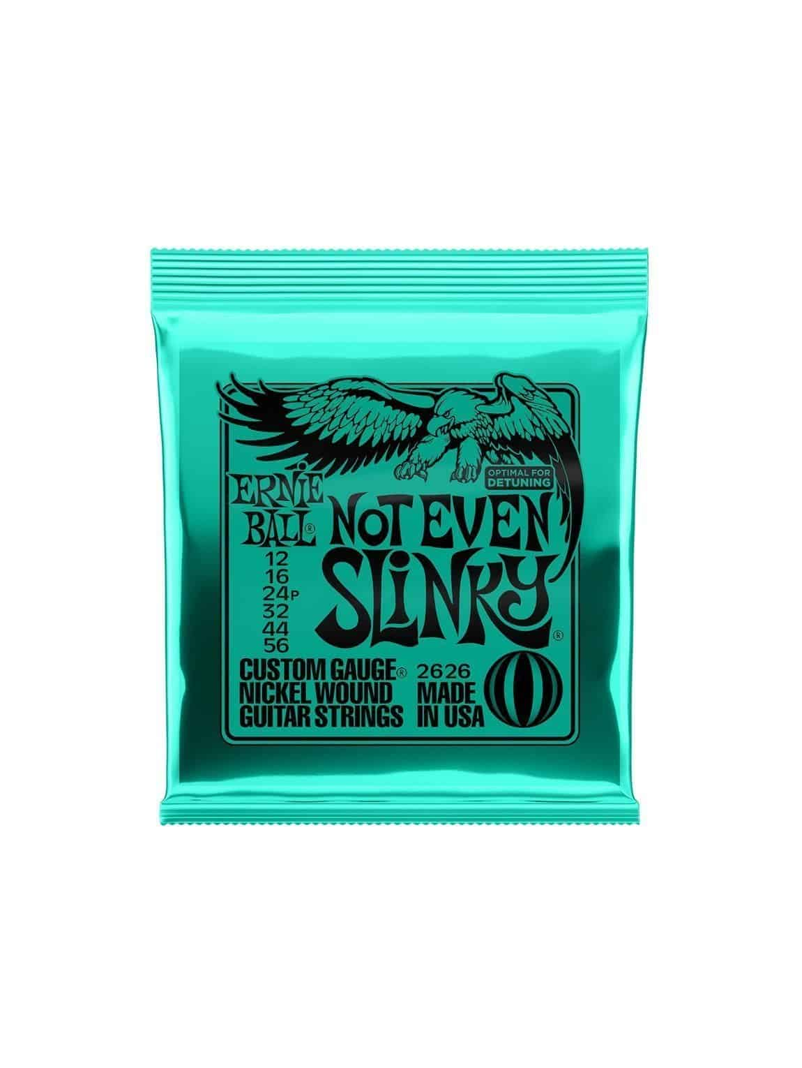 Ernie Ball -2626- Not Even Slinky- Electric 12-56 Gauge