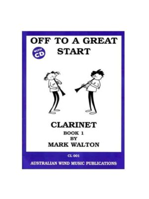 Off To A Great Start Clarinet Book 1