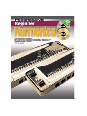 Progressive Beginner Harmonica Bk/Cd