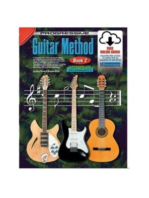 Progressive Guitar Method: Book 2 with CD