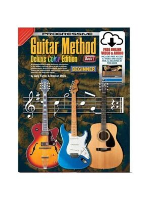 Progressive Guitar Deluxe BOOK 1 With/Online Video & Audio