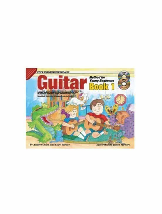 Progressive Guitar Method for Young Beginner: Book 2 with CD/DVD (Copy)