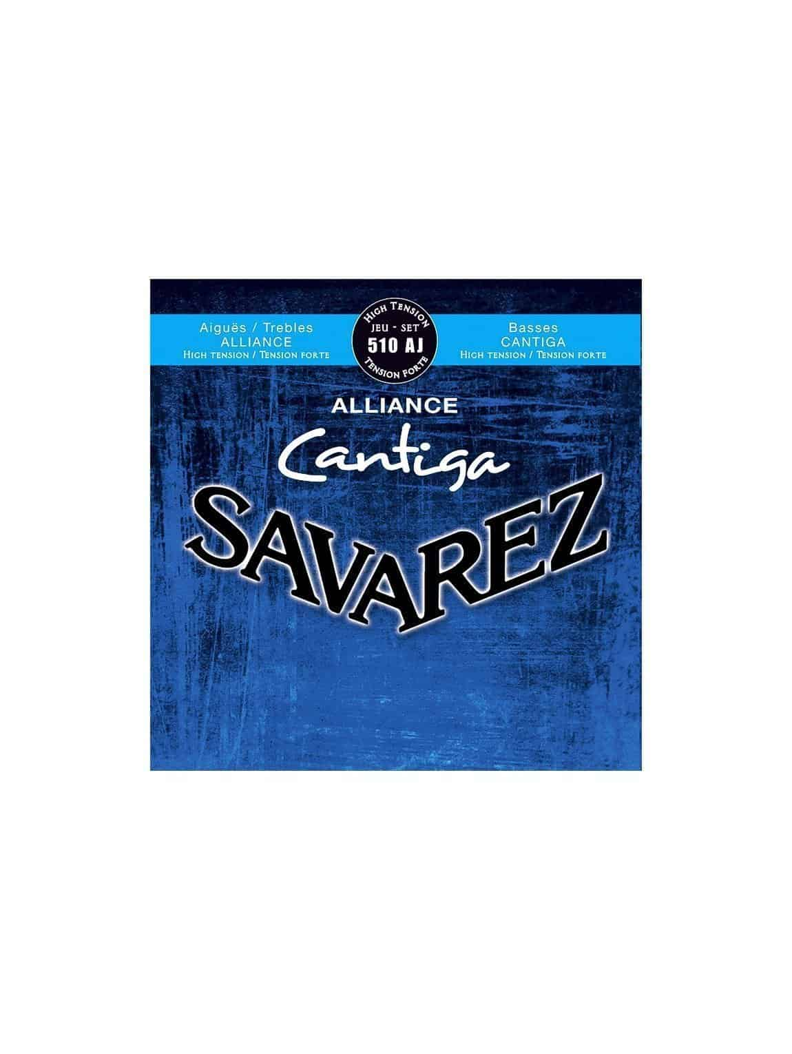 Savarez Classical Guitar Strings - 510CJ- High Tension