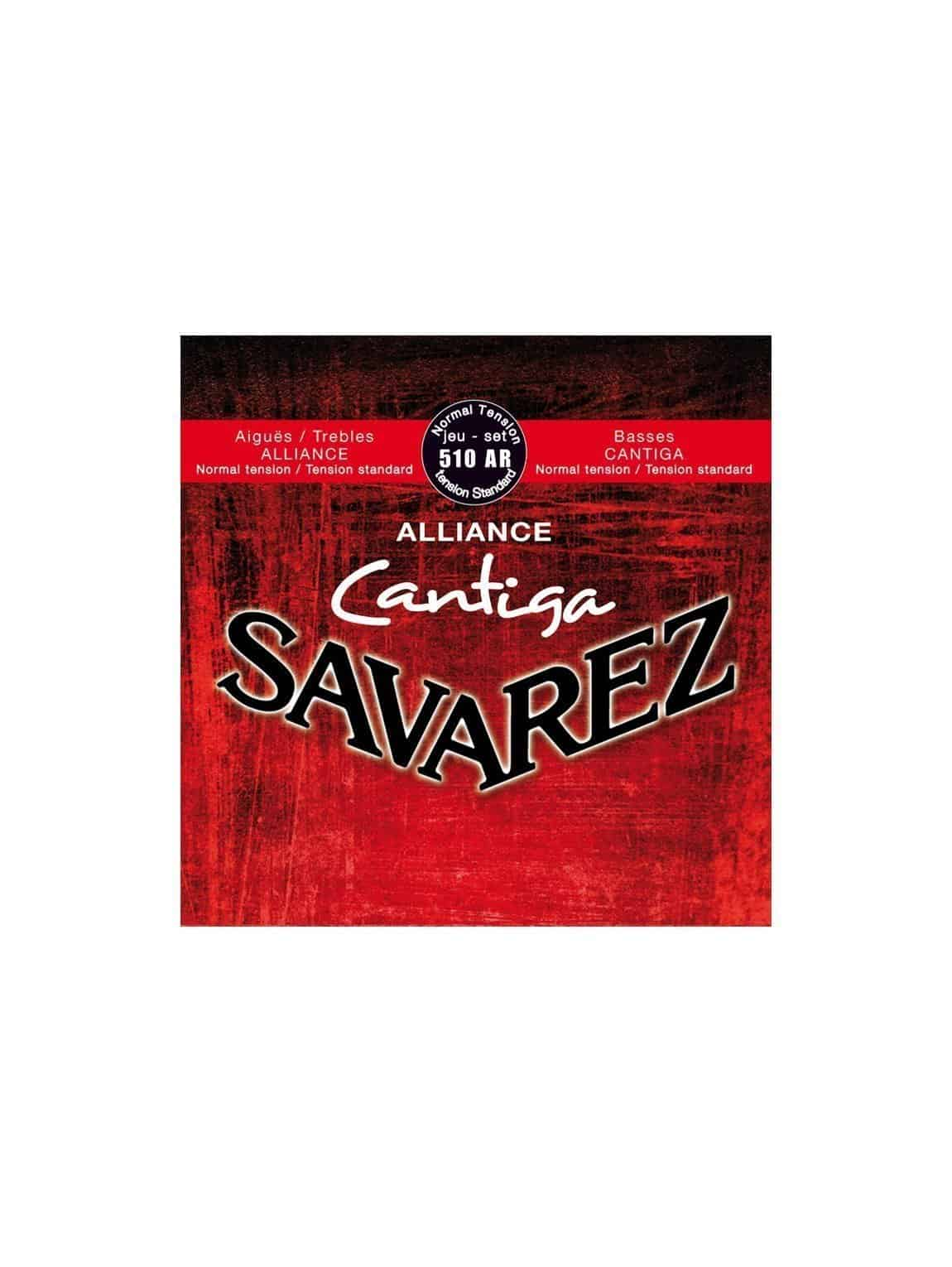 Savarez Classical Guitar Strings - 510CR- Normal High Tension