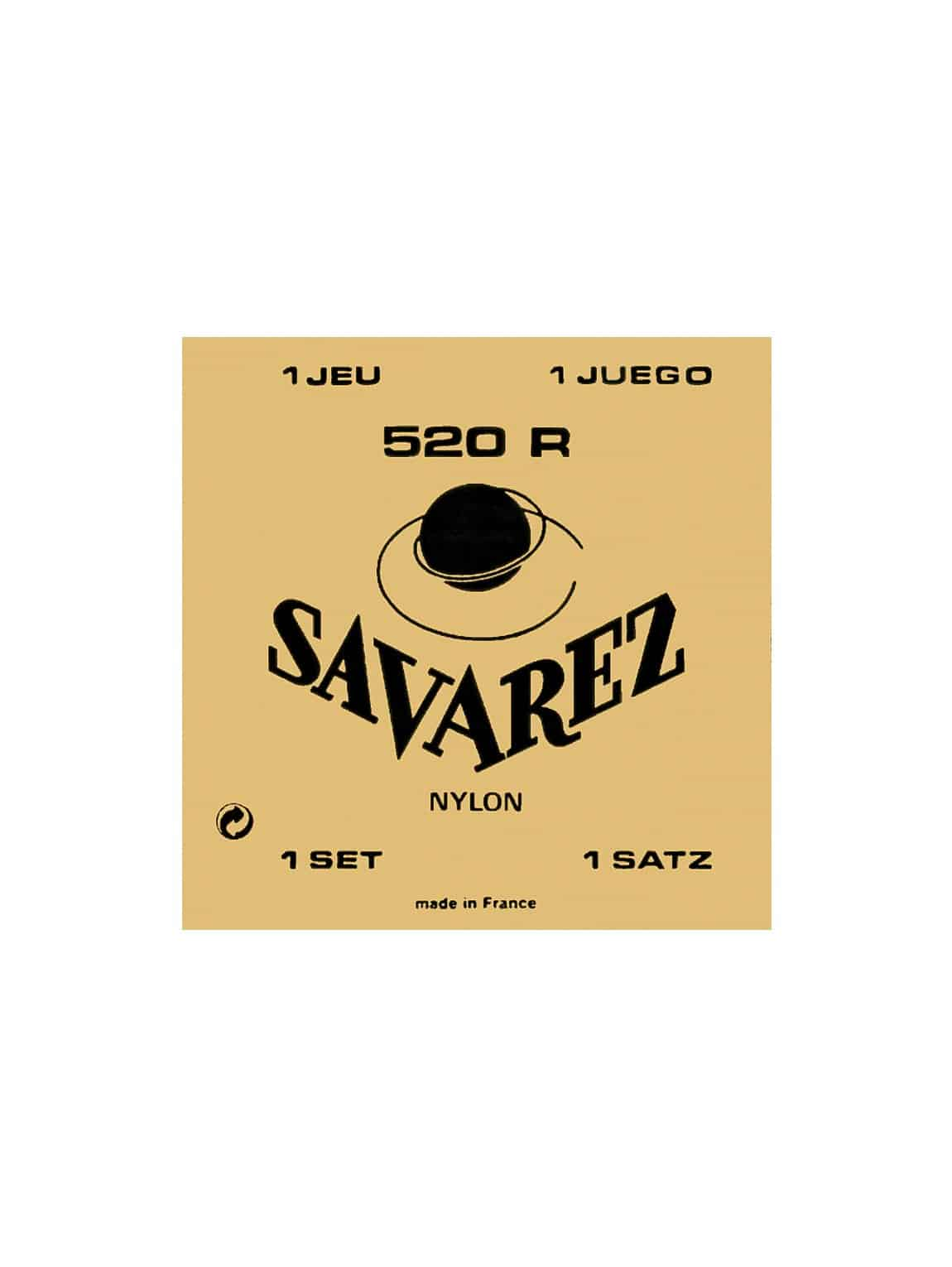 Savarez Classical Guitar Strings - Normal Tension