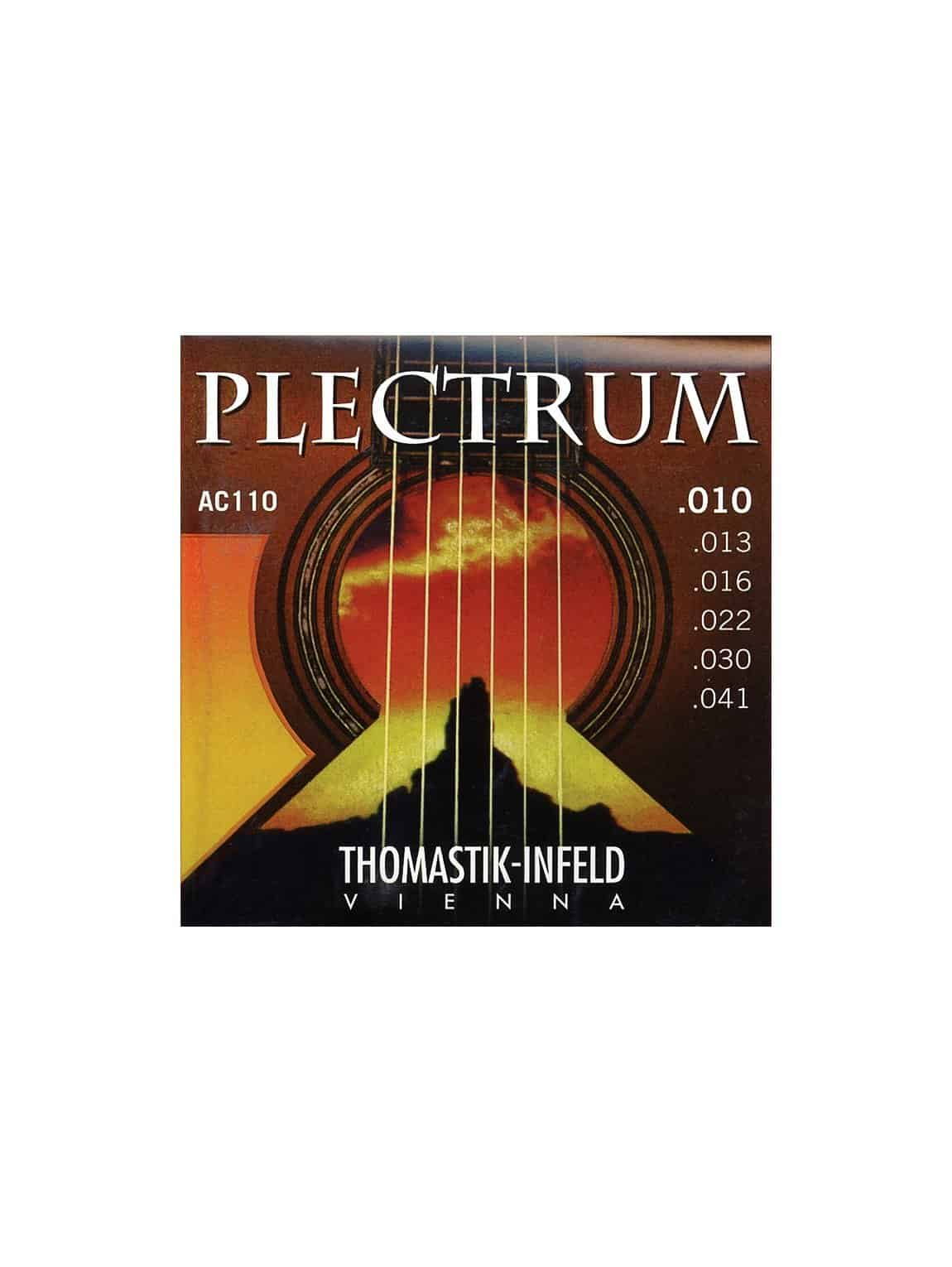 Thomastik - AC110 - Plectrum Acoustic Guitar Strings - 10-41 Gauge