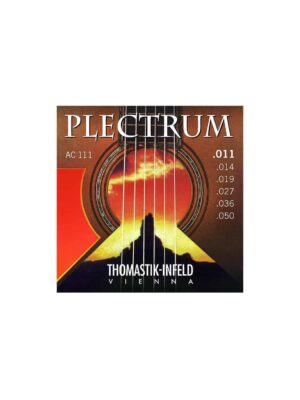 Thomastik - AC111 - Plectrum Acoustic Guitar Strings - 11-50 Gauge