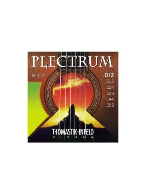 Thomastik - AC112 - Plectrum Acoustic Guitar Strings - 12-59 Gauge