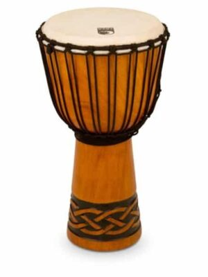 Toca 10″ Rope Tuned Djembe – Celtic Knot