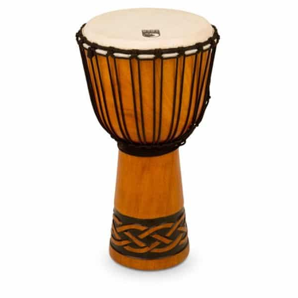 """Toca 10"""" Rope Tuned Djembe - Celtic Knot"""