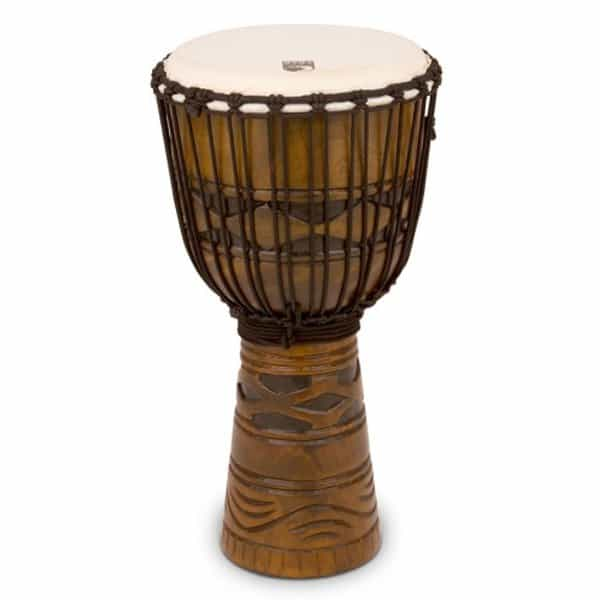"""Toca 12"""" Rope Tuned Djembe - African Mask"""