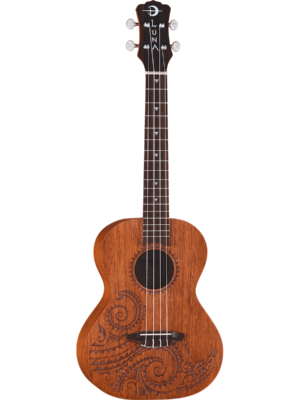 Luna Tattoo Mah Tenor Ukulele w/Gig Bag