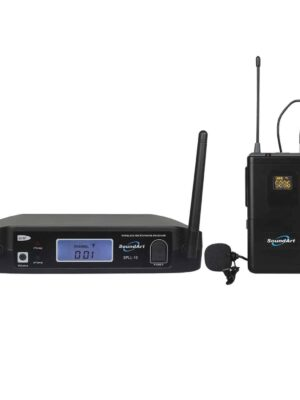 SoundArt Single-Channel UHF Wireless Belt Pack System With Lapel and Headset Microphones
