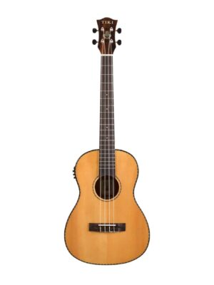 TIKI TSB-22P-NGL Baritone Ukulele with Pick up