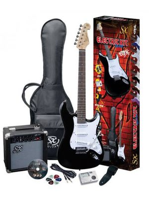 SX Electric Guitar Pack – in various colours