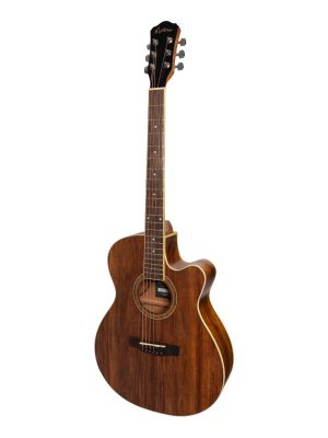 Martinez '41 Series' Folk Size Cutaway Acoustic-Electric Guitar (Rosewood)