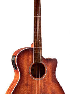 Cort GA-MEDX M OP Grand Auditorium Mahogany Electric Acoustic