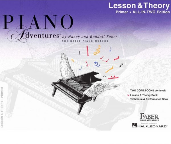 Piano Adventures- lesson & theory -primer