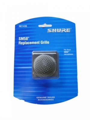 Shure RK143G Replacement Grille for SM58 Microphone