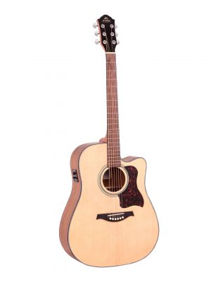 Gilman GD10CE Electric Acoustic Guitar with Pickup